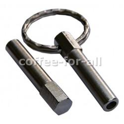 Ovalkopfbit Schlüssel passend für Jura, Krups, AEG
